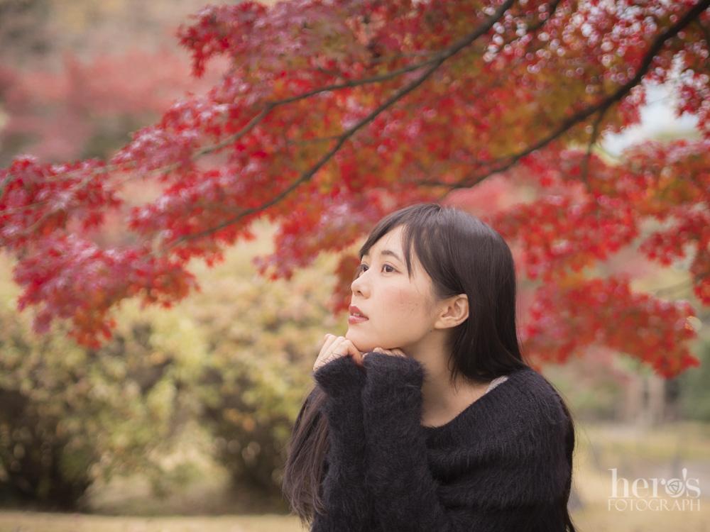 田中みか_紅葉の浜離宮_01