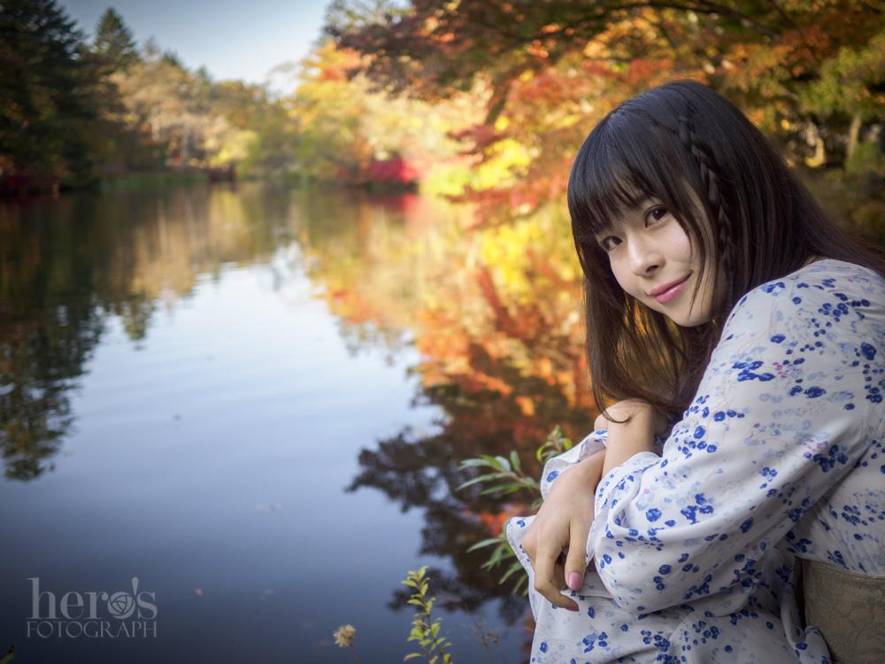 愛しのまりん_軽井沢_雲場池_03