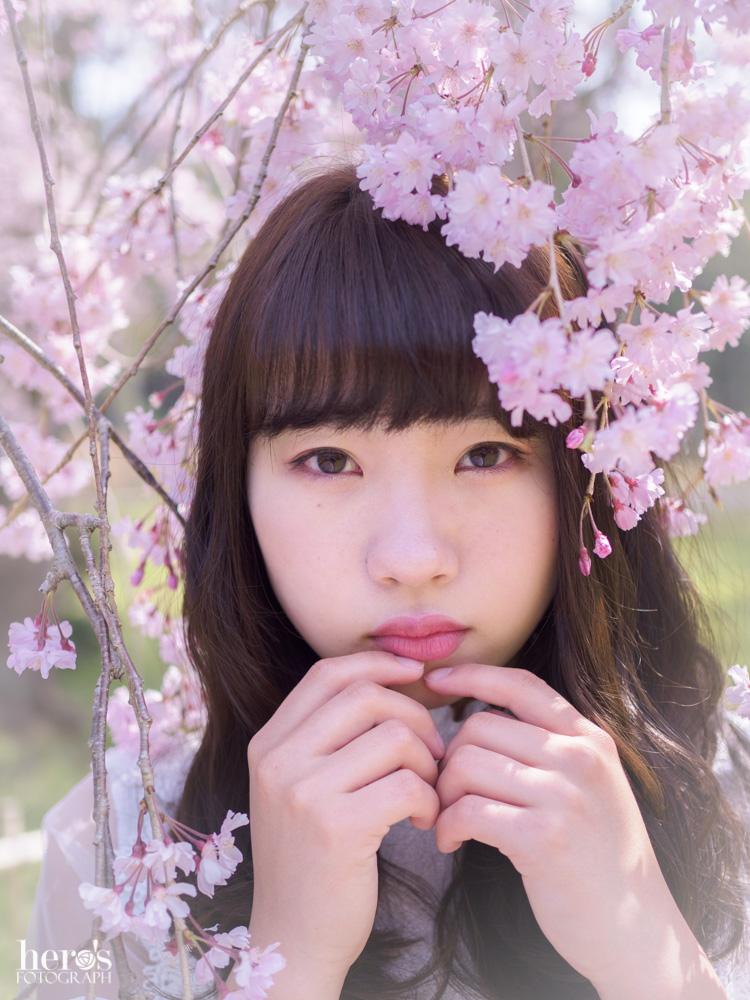 宇佐川りかこ(ぴよん)_桜ポートレート_21