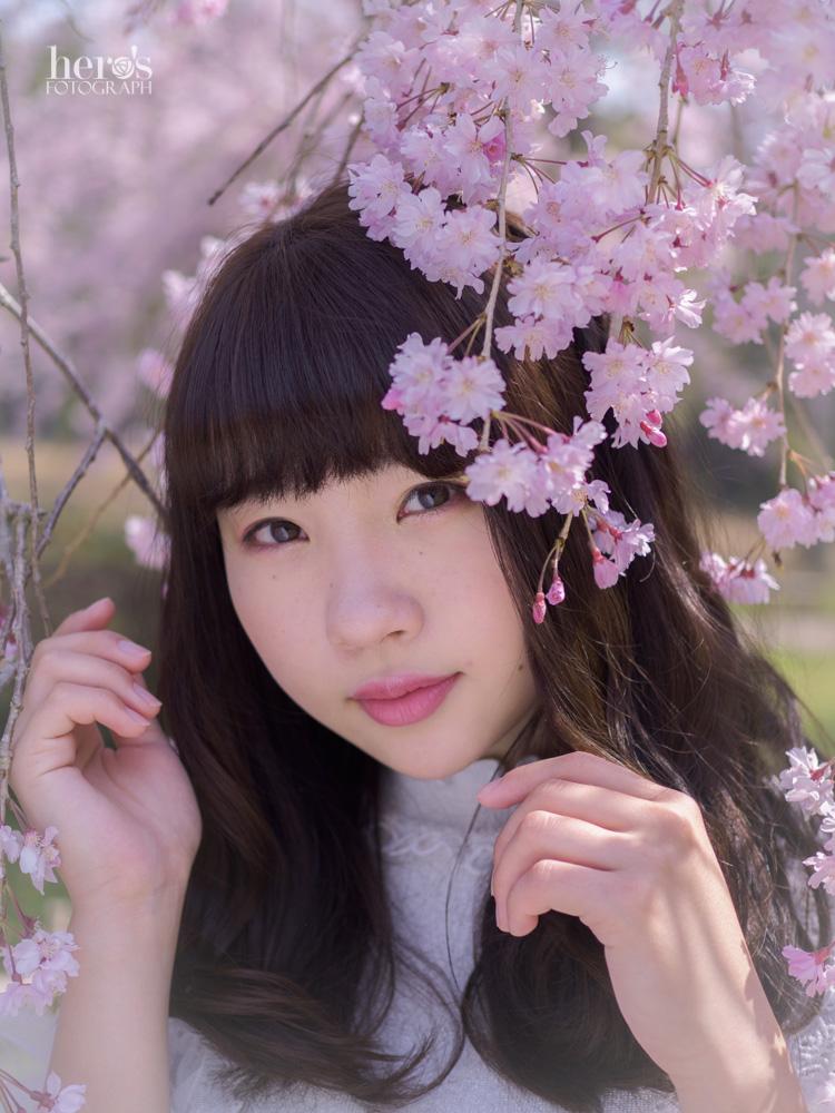 宇佐川りかこ_桜ポートレート_06