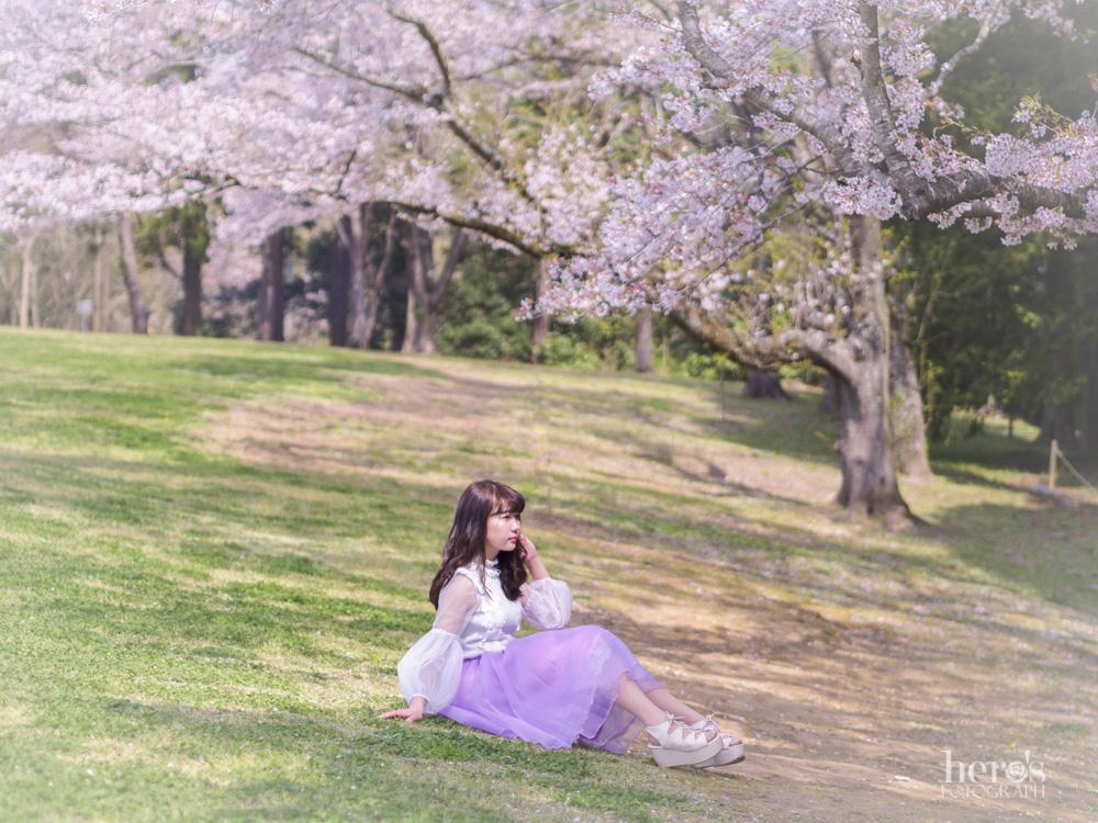 宇佐川りかこ(ぴよん)_桜ポートレート_23