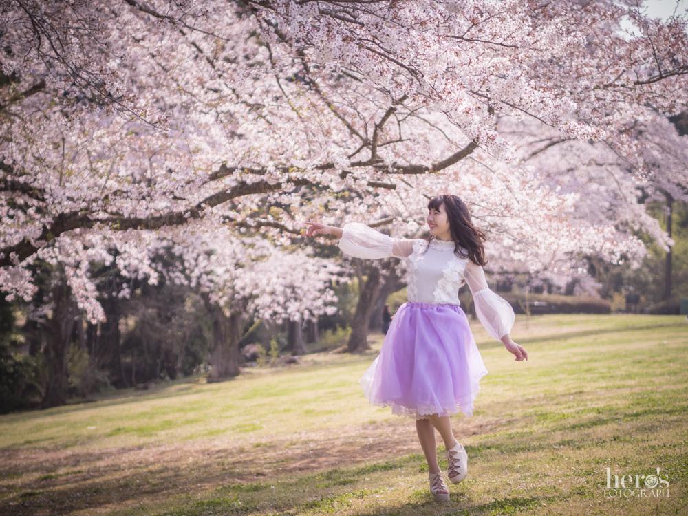宇佐川りかこ(ぴよん)_桜ポートレート_20