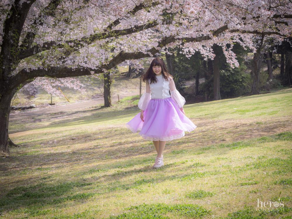 宇佐川りかこ(ぴよん)_桜ポートレート_26