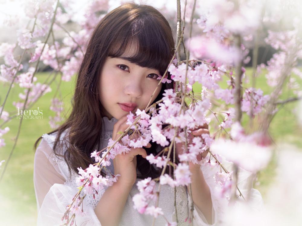 宇佐川りかこ(ぴよん)_桜ポートレート_30