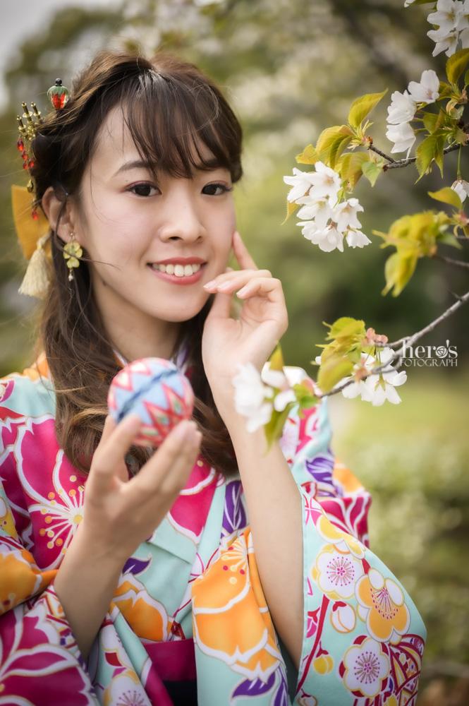 桜庭ななせ_袴_桜